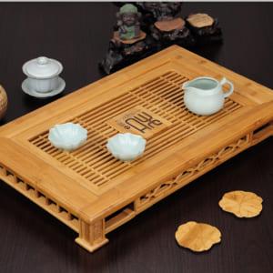 Bàn trà bằng tre cao cấp
