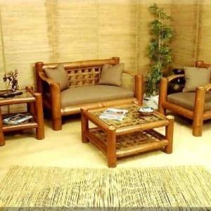 Bộ bàn ghế Sofa bằng tre cao cấp